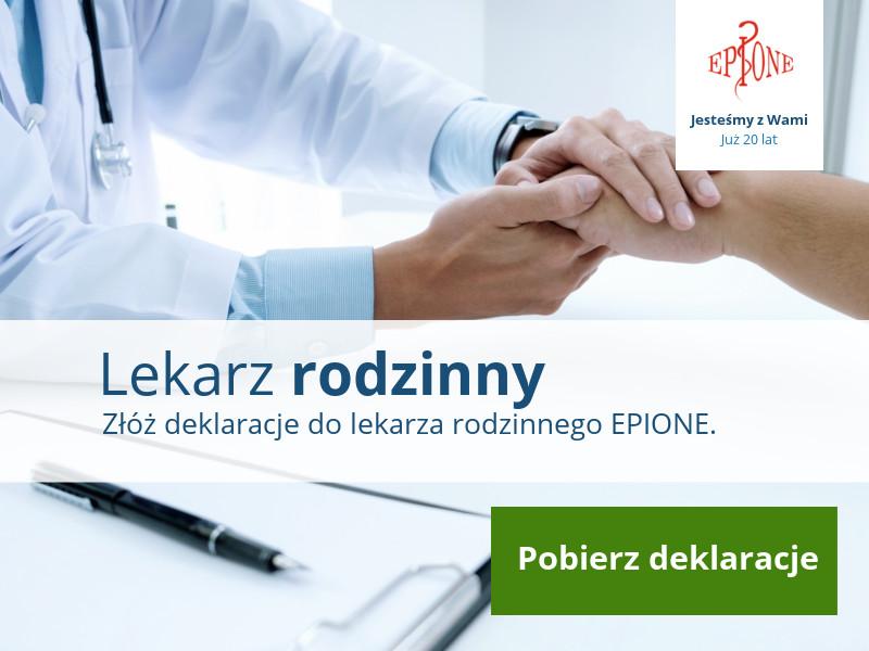 Deklaracja lekarza rodzinnego - Przychodnia Katowice